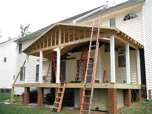 maintenance free screen porch and deck in henrico co now