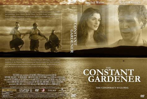 The Constant Gardener by Constant Gardener The Dvd Custom Covers 650the