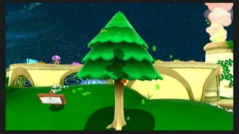 mario tree mario galaxy 2 yoshi in a tree glitch