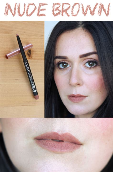 Lip Liner Catrice how to rock brown lipstick drugstore options
