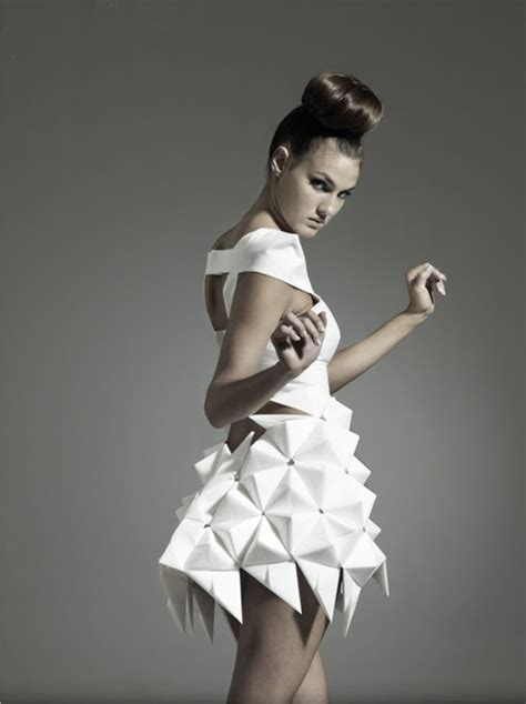 Origami In Fashion - the of origami