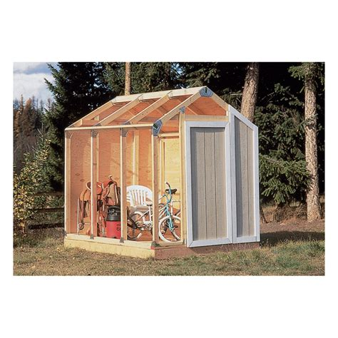 Equipment Storage Shed by Fast Framer Universal Storage Shed Framing Kit Universal