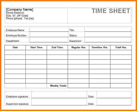 Employee Time Card Template by Employee Time Sheet Template Aiyin Template Source