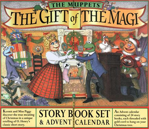 a gift of a story the gift of the magi story book set advent calendar