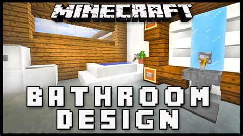 minecraft     modern bathroom design house