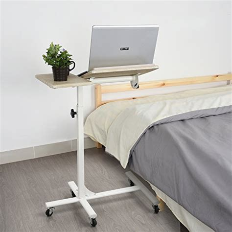 bedside table l height laptop table sofa bedside table overbed table 5 adjustable