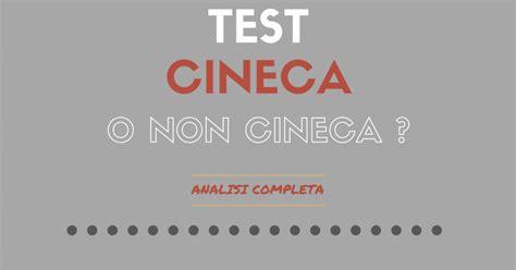 cineca test test cineca e professioni sanitarie analisi completa