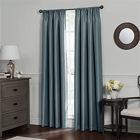 total blackout curtains buy emery 63 inch rod pocket insulated total blackout