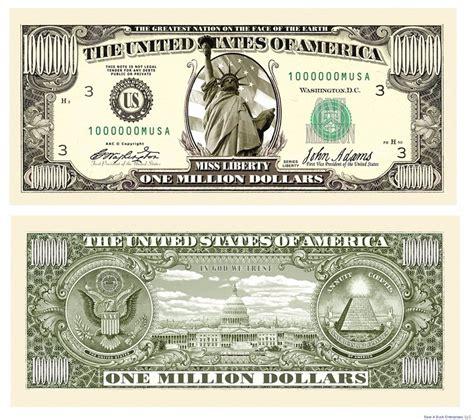 new year dollar bill tradition wholesale lot of 25 traditional million dollar bills ebay
