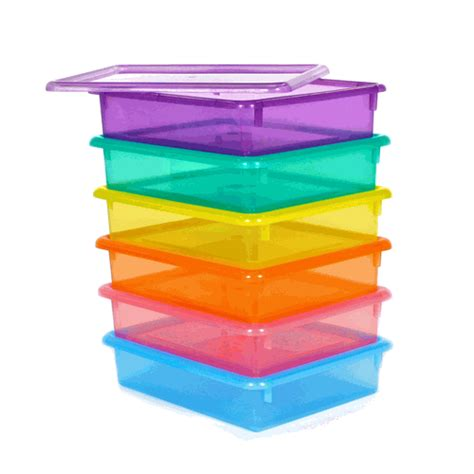 colored storage bins letter size colored plastic storage containers classroom