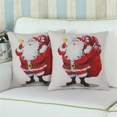 christmas couch pillows attractive christmas throw pillow covers home designing