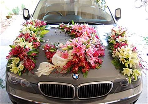 Christian Wedding Car Decorations by Car Decorations In Indian Wedding
