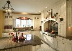 Country Kitchen With White Cabinets by French Country White Kitchen Cabinets Home Design And