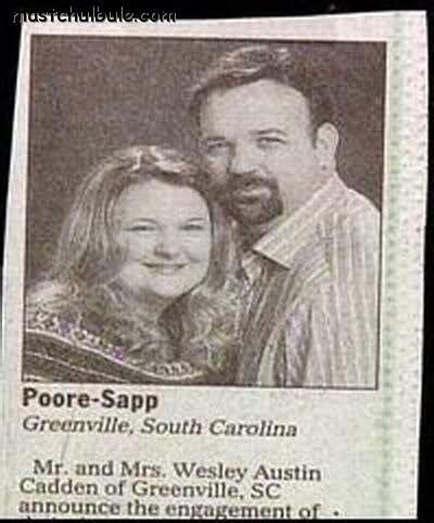 Wedding Announcement Headline by 63 Best Newspaper And Bulletin Misprints Images On