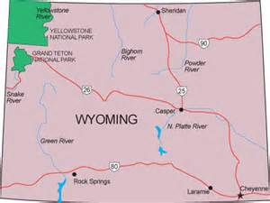 Map Of Wyoming State by Wy Map Wyoming State Map