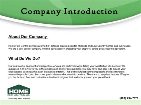 Low Country Homes by Home Pest Control Company Profile