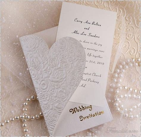 foto gambar contoh undangan pernikahan 8 di femalist