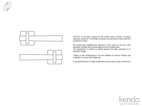 designboom meaning kendo door handle designboom com