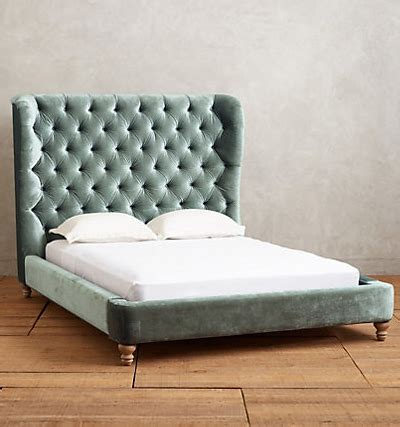 wingback tufted bed tufted wingback bed everything turquoise