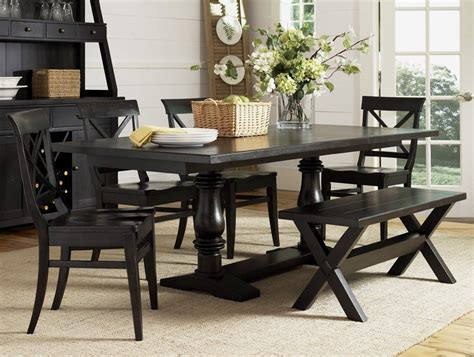 dining room table sets with bench home design