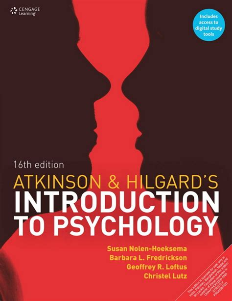 Introduction To Psychology atkinson hilgard s introduction to psychology