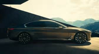 Futuristic Bmw Bmw Vision Future Luxury Concept In Hybrid Gets Revealed