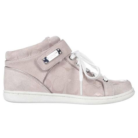 couch sneakers coach high top sneakers for women www imgkid com the