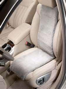 Mercedes Seat Covers Mercedes Accessories Sheep Skin Seat Cover Ebay