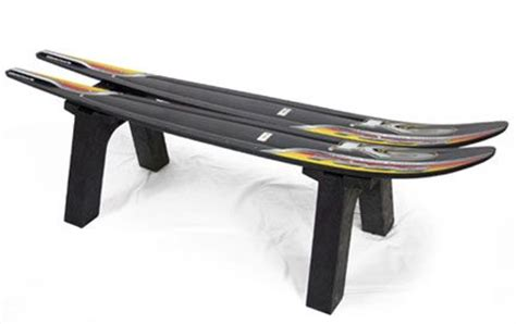 water ski bench water ski bench masculine design pinterest