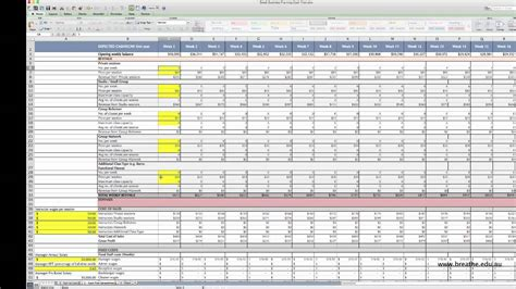 How To Use Cashflow Spreadsheet Template Youtube Personal Flow Spreadsheet Template Free