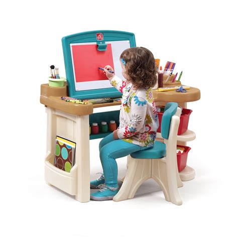 step2 deluxe art master desk with chair step2 art easel desk toys r us hostgarcia