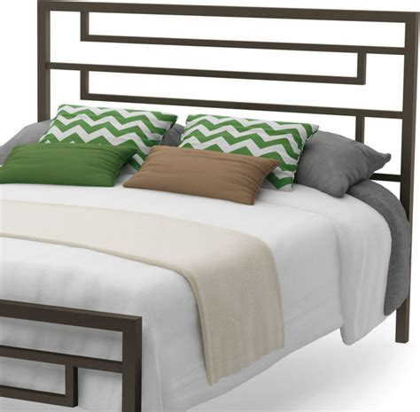 amisco temple size metal headboard 54 quot cobrizo