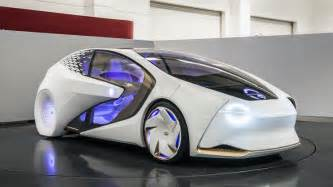 Electric Vehicles Japantimes Toyota Concept I Looks Will Be To Drive And