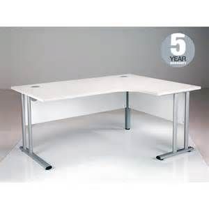 Modern Corner Office Desk Oslo White Right Corner Office Desks With Fast Delivery