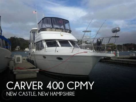 carver boats for sale nh carver 400 cpmy yacht for sale in new castle nh for 116 700