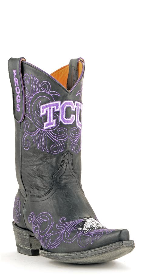 Scarf L121 gameday boots womens 10 quot leather christian cowboy boots