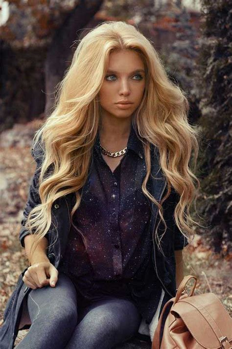 hairstyles for long curly blonde hair 100 best long blonde hairstyles long hairstyles 2016 2017