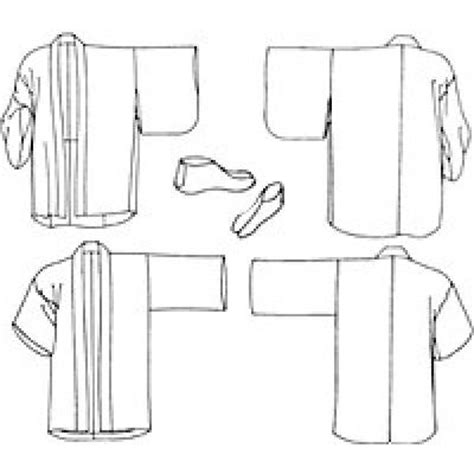 japanese haori pattern japanese hapi haori sewing pattern gt other sewing