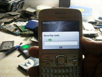 resetting nokia c3 security code c3 00 security code reset done gsm forum gsmreloaded