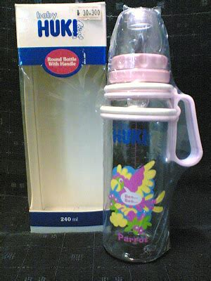 Huki Botol Dot 120ml perlengkapan bayi dan anak quot istana baby quot botol