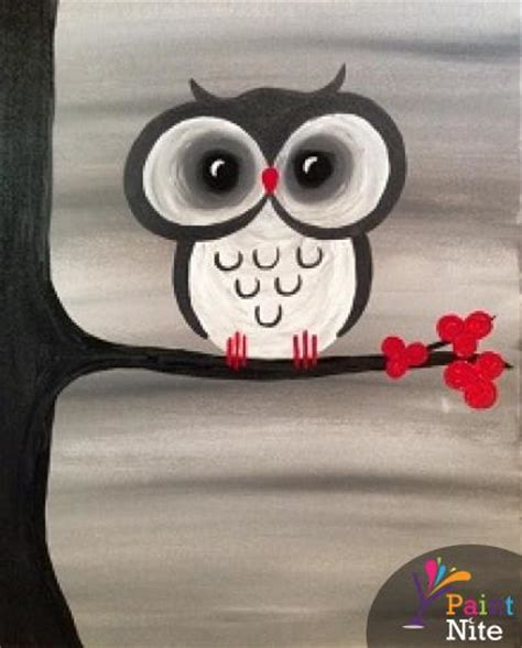 paint nite owl monday s paint quench lounge