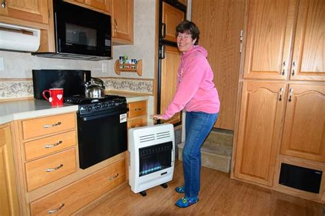 RV Heater: How to Install a Vent Free Propane Heater in an RV