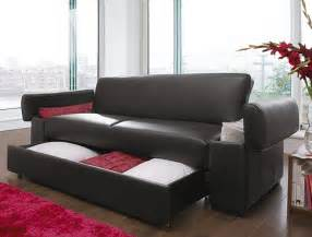 Leather Sofa Bed With Storage New Luxury Faux Leather Sofa Bed With Storage Aragon