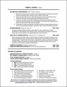 applications support manager resume
