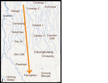 by kulinerkhasjalan2 published september 29 2011 full size is 641 peta jalan curug cigamea pamijahan cemplang jalan