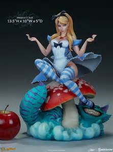 j scott campbell alice in wonderland statue by sideshow