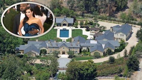 kanye west house kim kardashian kanye west s mansion in hidden hills los angeles youtube