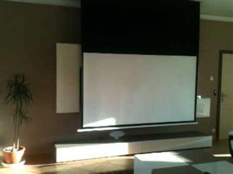 Installation Ecran Videoprojecteur by Installation Vid 233 Oprojecteur Panasonic Et Ecran Cin 233 Ma