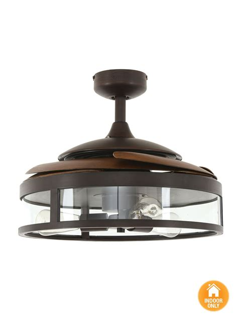 ceiling fan retractable blades fanaway classic orb ceiling fan with clear retractable blades and light ceiling fans