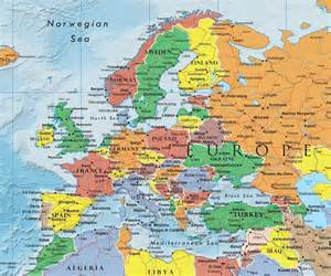 map of european continent europe continent europe map list of countries in europe einfon